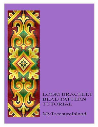 motif bracelet pattern bead loom vintage motif 9 bracelet pattern pdf