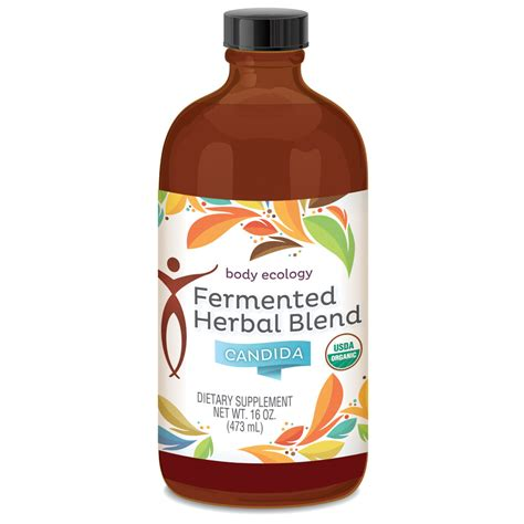 Ecology Detox by Ecology Fermented Herbal Blend Candida 473ml Bottle
