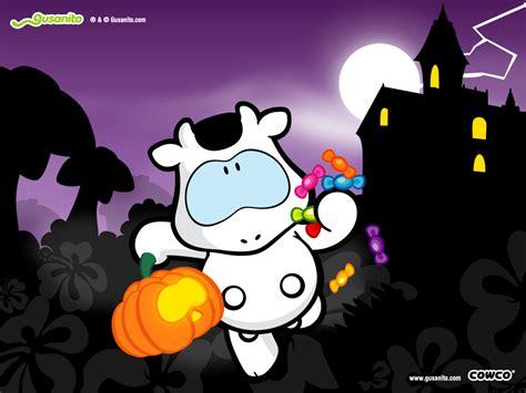 imagenes gusanito halloween tarjetas cowco