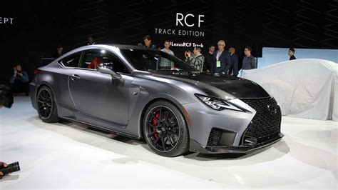 2020 Lexus Rcf Horsepower by 2020 Lexus Rc F Track Edition Live From The Detroit Auto Show