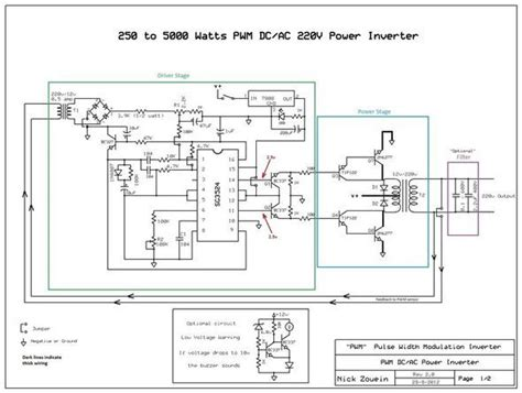 Pwm Dc Power Supply Input 220vac Output Dc 0 110v 12v 5000w inverter circuit diagram circuit and