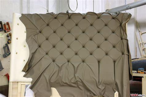 da letto grande letto con testiera di grandi dimensioni in pelle