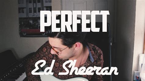 ed sheeran perfect on vinyl ed sheeran perfect cover by aaron fleming youtube