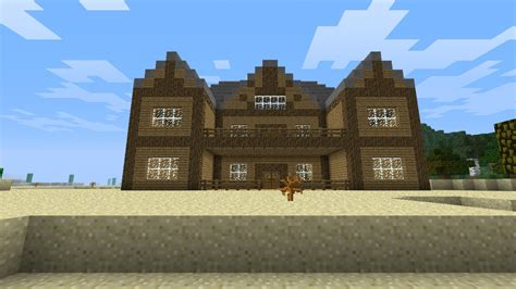 a big house minecraft project