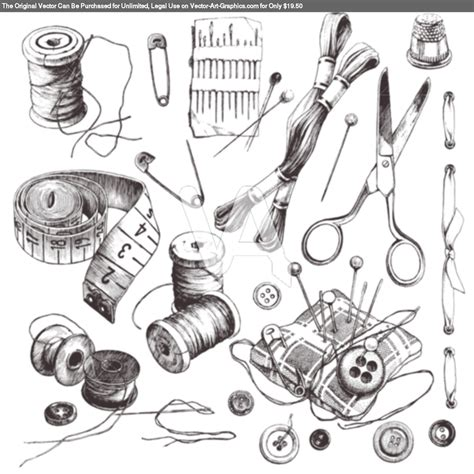 fashion illustration drawing tools vintage sewing polyvore