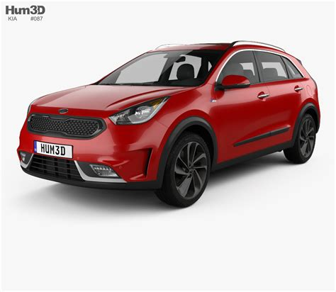 kia model kia niro 2017 3d model hum3d