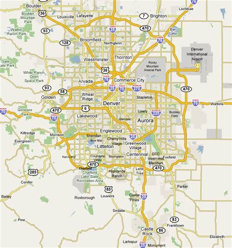 denver co map condos and lofts by map denver home value realty