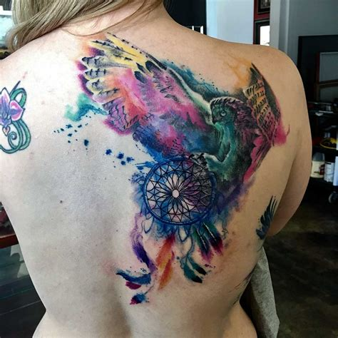 what is a watercolor tattoo joel wright watercolor artist galaxy