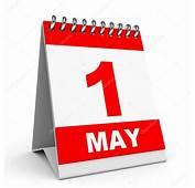 Calendar 1 May — Stock Photo &169 ICreative3D 44667699