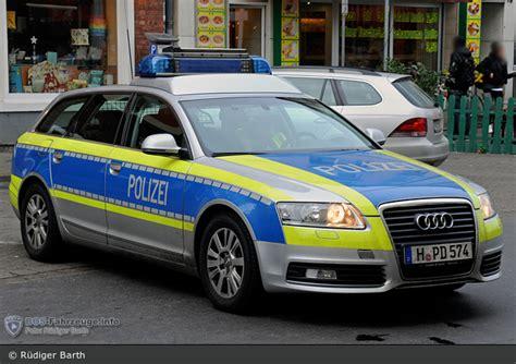 Auto Folierung Polizei by Einsatzfahrzeug H Pd 574 Audi A6 Avant Fustw Bab
