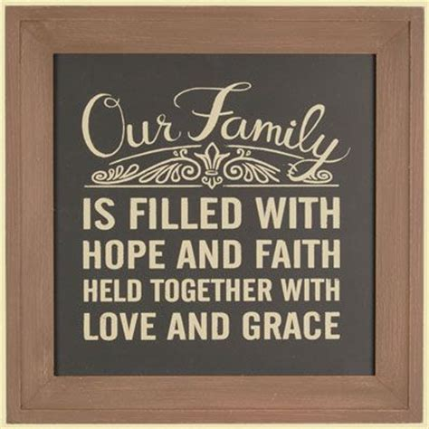 Chalkboard Love And Hope Anchors - chalkboard typography wall art style with special words
