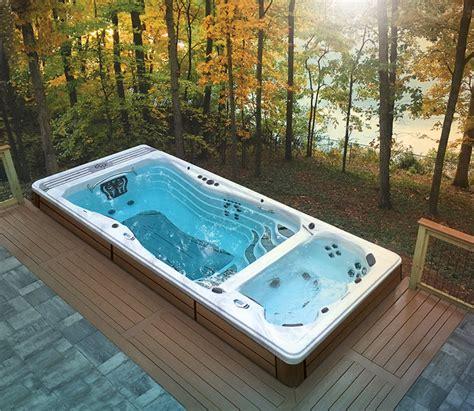 backyard ideas    put  swim spa