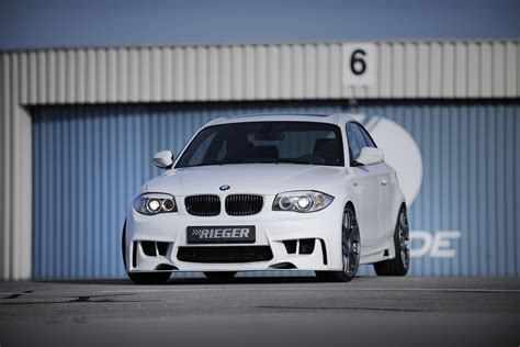Bmw 1er Coupe Versicherungskosten by Rieger Tuning Aggressives Facelift F 252 R Das Bmw 1er Coup 233