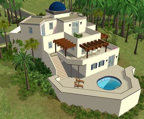 home design for the sims 3 sims house spring4sims 187 athen lot by sims 2 houses