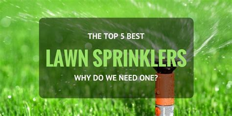 best lawn sprinklers 5 best lawn sprinkler for large lawns small lawns 2018