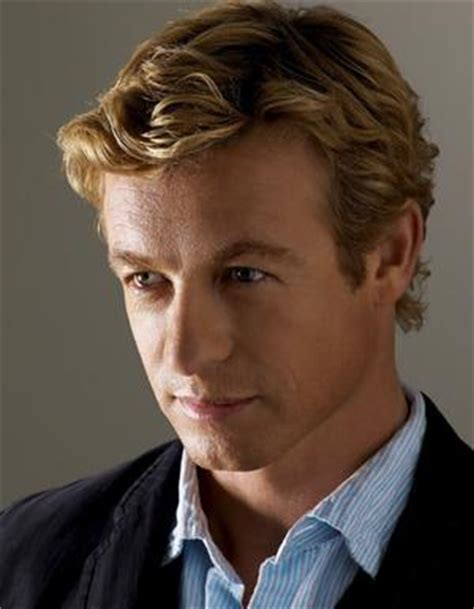 blond hair actor in the mentalist simon baker hits the big time culture executive style