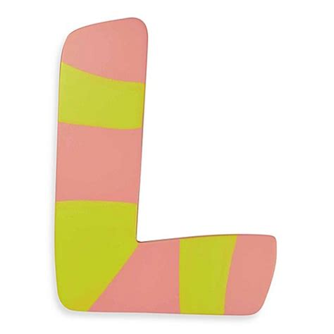 where to buy colored l buy pastel colored wooden letter quot l from bed bath beyond
