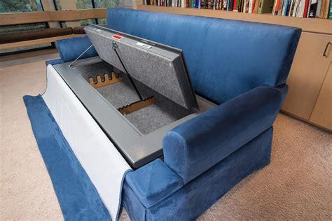 hidden sofa hidden compartment furniture rtba media inc