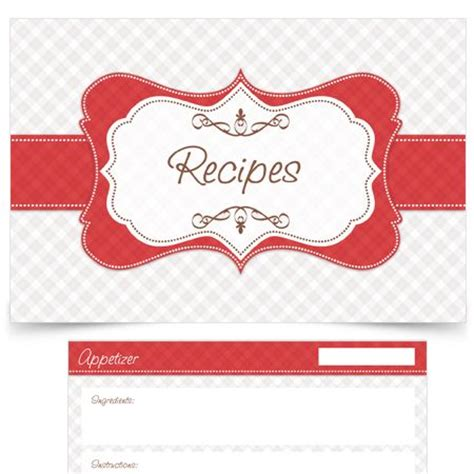 pudding recipe card template 44 best images about recipe cards on