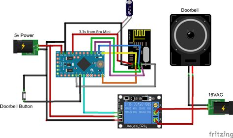 wireless doorbell wiring diagram doorbell repair wiring