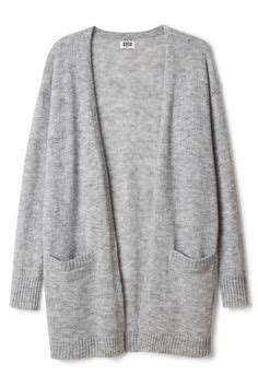 Minimal Slouchy Knit Top Navy by Shein Sheinside Navy Sleeve Knit Cardigan 31