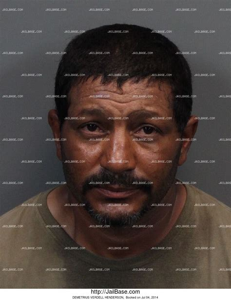 Henderson Nv Arrest Records Demetrius Verdell Henderson Arrest History