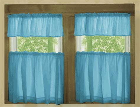 turquoise kitchen curtains solid turquoise cotton kitchen tier cafe curtains