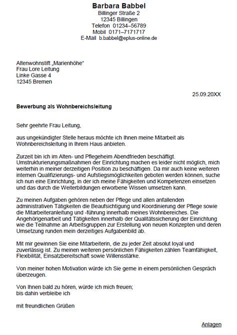 Bewerbung Anschreiben Altenpflegerin Bewerbung Altenpflegerin Ungek 252 Ndigt Berufserfahrung Sofort