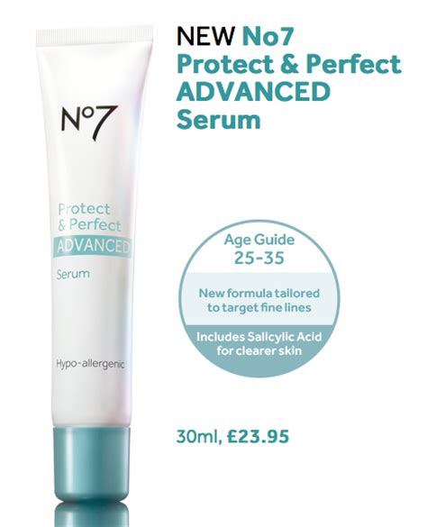 Serum Flawless Advance boots no7 protect elixir