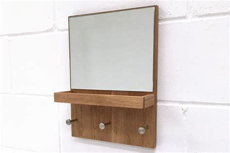 futon hooks hallway mirror with key tray and coat hooks futon company