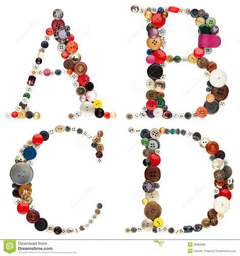 buttons alphabet letters a b c d stock photo image