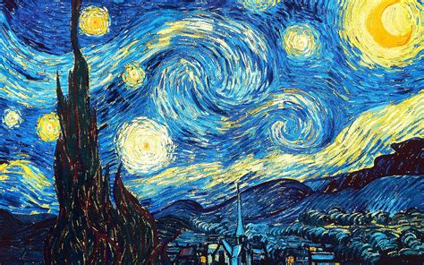 starry night top 10 most famous paintings in the world