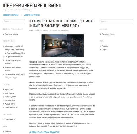 Idea Bagno Oggi by Ideagroup Al Salone Mobile Di