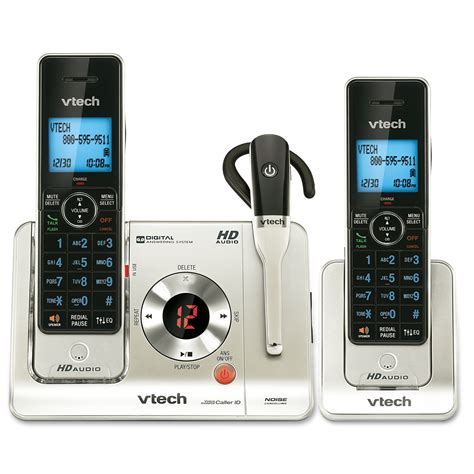 cordless ls home 2 handset answering system with cordless headset ls6475
