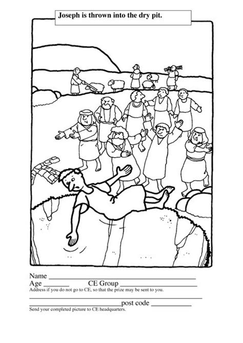 sunday school coloring pages for joseph bible coloring pages for joseph genesis joseph for kids