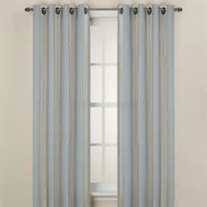 Striped Window Curtains Buy Stripe Window Curtain Valance In Yellow From Bed Bath Beyond