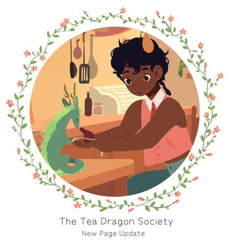 the tea society strangely