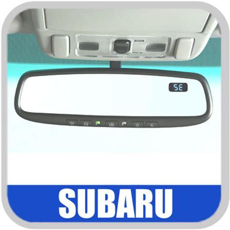 subaru homelink mirror 2009 2011 subaru forester auto dimming mirror rear view