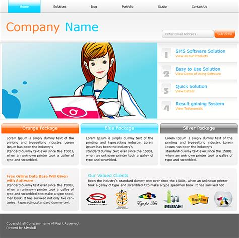 Premium Website Templates by Premium Website Templates Low Cost Hi Qty Templates
