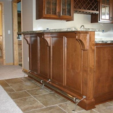 11 best images about kitchen island foot rests on