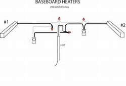 wiring diagram for thermostat on baseboard heater wiring wiring diagram 2 baseboard heaters 1 thermostat wiring auto on wiring diagram for thermostat on baseboard