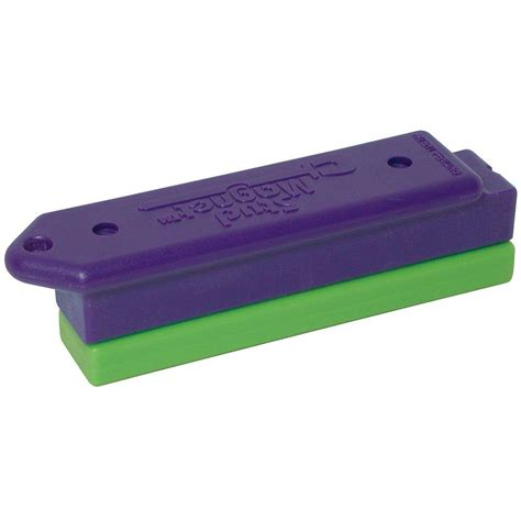 master magnetics purple with lime shield magnetic stud