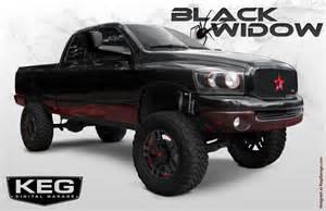 show truck build black widow dodgeforum