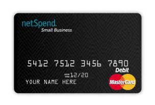 netspend business card prepaid debit cards for personal commercial use netspend