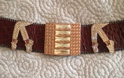 Limited Edition Belt Swarovsky Elastis Termurah charitybuzz limited edition b b simon brown leather belt with swarov lot 361701