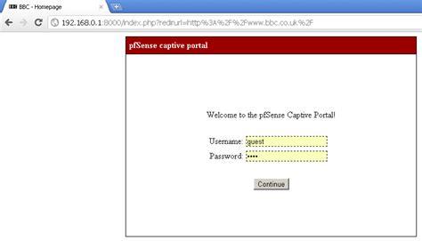 captive management template pfsense 2 0 rc1 customize captive portal pages and