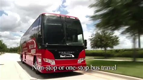 red couch bus inside redcoach florida luxury buses youtube