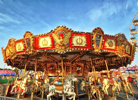 Merry Go merry go jigsaw puzzle in puzzle of the day puzzles