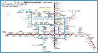 Beijing Subway Map Beijing Subway Map Travel Map Vacations