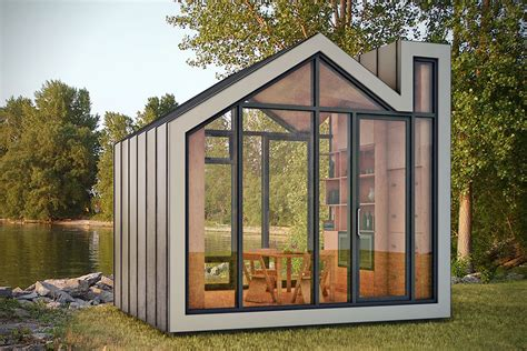 tiny houses prefab bunkie prefab tiny home hiconsumption